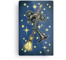 Everyday Witch Tarot - Back of Card Design Metal Print