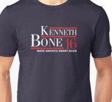 Kenneth Bone - Make america smart again Unisex T-Shirt
