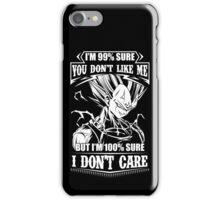 super saiyan majin vegeta - i don't care iPhone Case/Skin