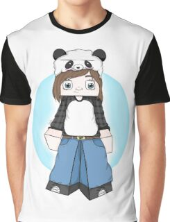 NattThePanda Character (ME) Better Graphic T-Shirt