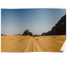 Wadi Rum / Desert Poster