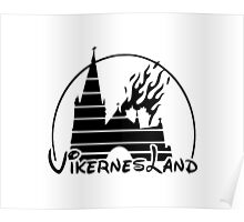 Burzum - Vikernes land - Casual Version Poster