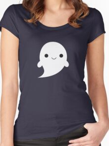 Little Ghost Women's Fitted Scoop T-Shirt
