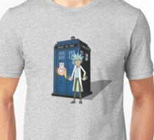 Rick and Morty -  Dr who Unisex T-Shirt