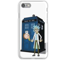 Rick and Morty -  Dr who iPhone Case/Skin