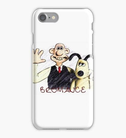 Wallace and Gromit Bromance iPhone Case/Skin