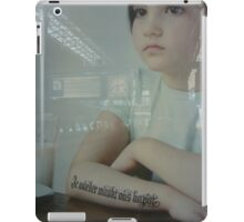 Respect to all children from divorced parents iPad Case/Skin
