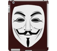 Guy Fawkes iPad Case/Skin