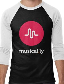 Musical.ly symbol Men's Baseball ¾ T-Shirt