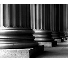 Pillars of Government - National Archives Photographic Print
