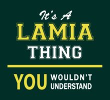 It's A LAMIA thing, you wouldn't understand !! by satro