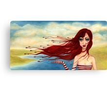 Steife Briese Canvas Print
