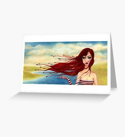 Steife Briese Greeting Card