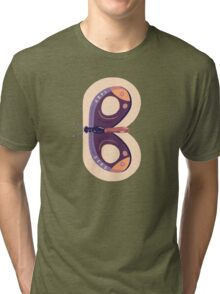 B for Butterfly Tri-blend T-Shirt