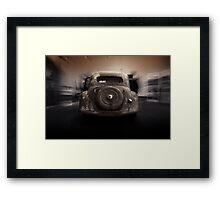 classic car, vintage, citroen traction avant 1948 Framed Print