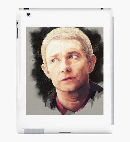 Martin Freeman as John Watson iPad Case/Skin