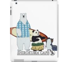 Shirokuma Cafe iPad Case/Skin