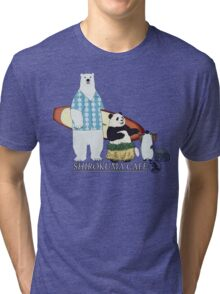 Shirokuma Cafe Tri-blend T-Shirt