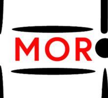 Mor-door Sticker