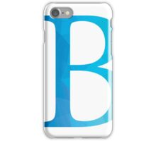 Beta-Blue iPhone Case/Skin