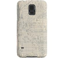 Vintage Map of Detroit (1895) Samsung Galaxy Case/Skin