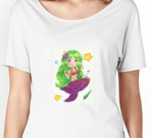 Cute Mermaid Women's Relaxed Fit T-Shirt