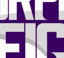Purple Reign Sticker