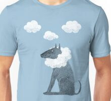 Head in Clouds Dreamer Dog Unisex T-Shirt