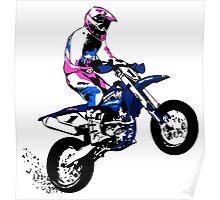 Supermoto Racing Poster