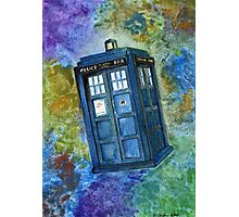 TARDIS from Dr Who Photographic Print