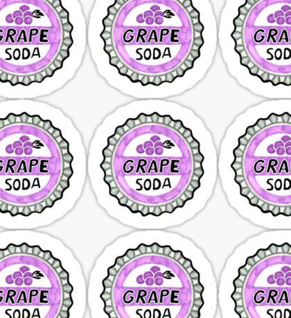 up grape soda pin 9 sticker pack Sticker
