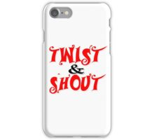 Twist And Shout The Beatles Rock Music iPhone Case/Skin