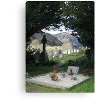 Just a Ol' Irish Graveyard Canvas Print