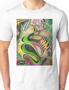 Infinite Intricate Patterns KRING Unisex T-Shirt
