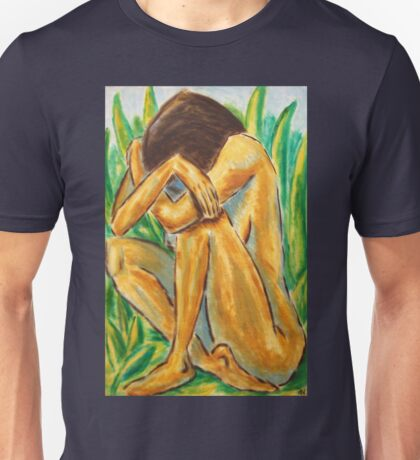 GIRL IN THE GRASS - NESCI Unisex T-Shirt