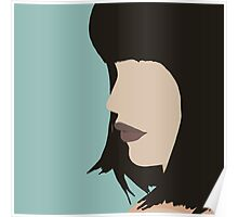 Cara - a modern, minimal portrait Poster