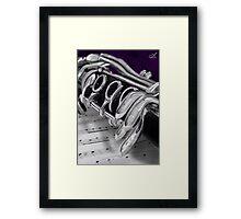 Clarinet Digital Painting Framed Print