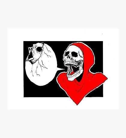 Spooky Num Num Photographic Print