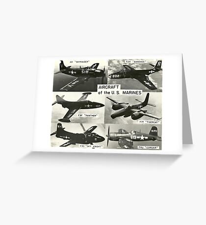 Aircraft of the US Marines (USMC) Greeting Card