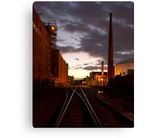 Grand Junction Railroad Canvas Print