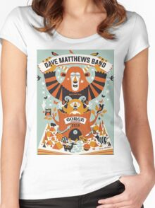 DMB25 The Gorge Amphitheatre George WA, TOUR 2016 Women's Fitted Scoop T-Shirt
