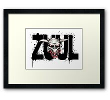 There is no Dana, only ZUUL Framed Print