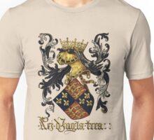 King of England Coat of Arms - Livro do Armeiro-Mor Unisex T-Shirt