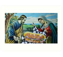 Holiest of Hoagies Art Print
