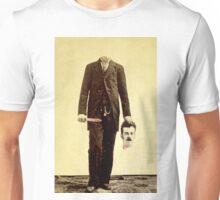 Self-decapitated man Unisex T-Shirt