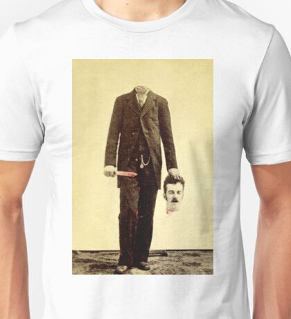 Self-decapitated man Unisex T-Shirt