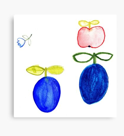 Obst Canvas Print