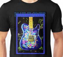 Telecaster- 60's BLUE FLOWER Unisex T-Shirt