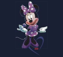 Lady Mouse with Jewel Kids Tee