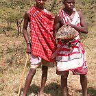 Maasai lads by indiafrank